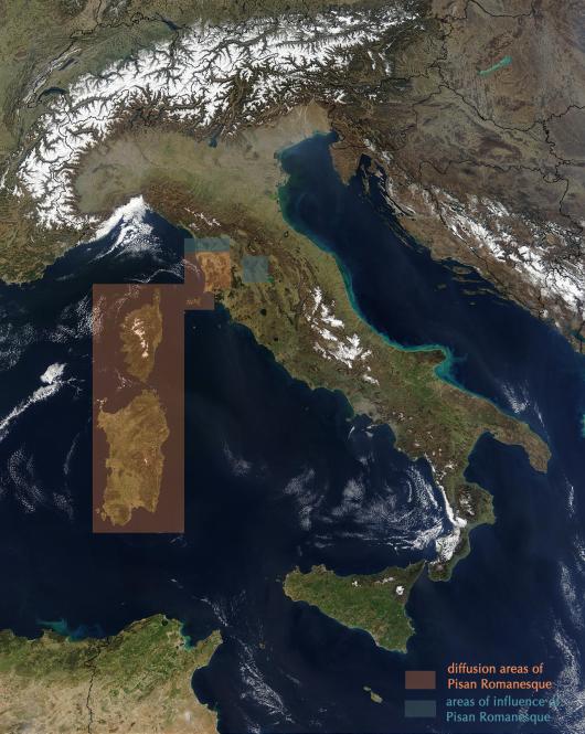 Italy_diffusion_Pisan Romanesque