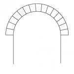 Barrel vault